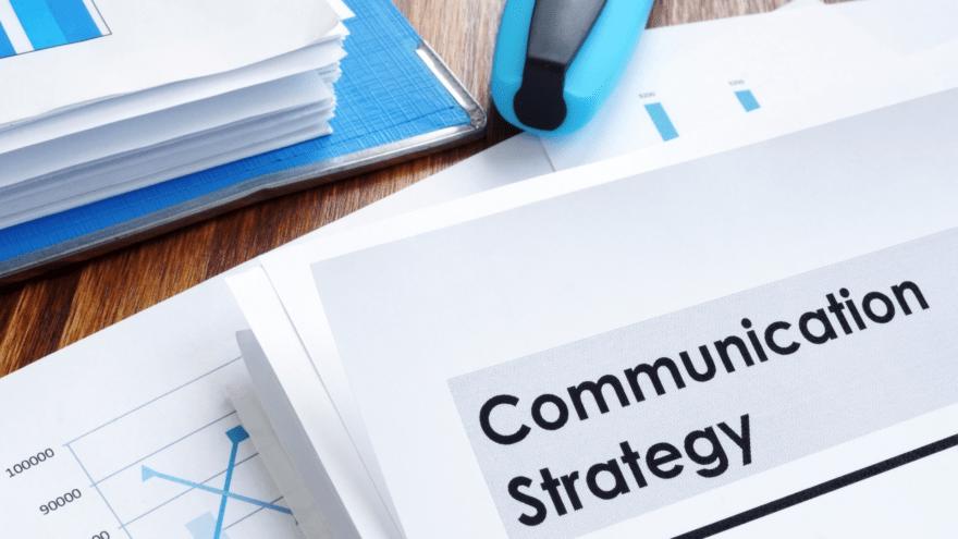 Site web et stratégie de communication
